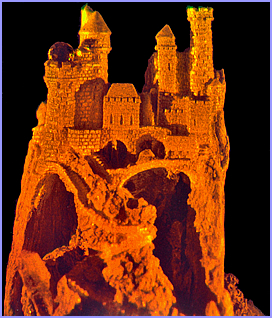 castle hologram image